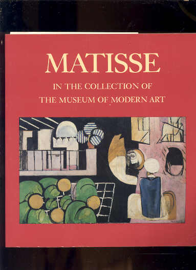 Image for MATISSE IN THE COLLECTION OF THE MUSEUM OF MODERN ART