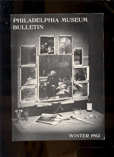 Image for PHILADELPHIA MUSEUM BULLETIN WINTER 1962 Conservation of Art