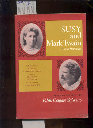 Image for SUSY AND MARK TWAIN: FAMILY DIALOGUES