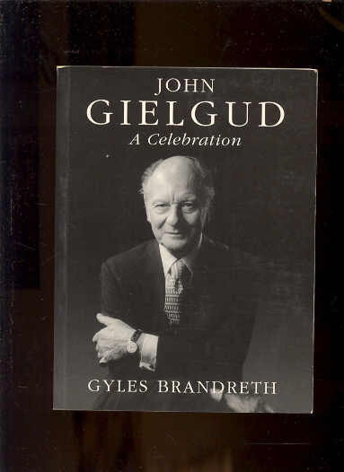 Image for JOHN GIELGUD A CELEBRATION
