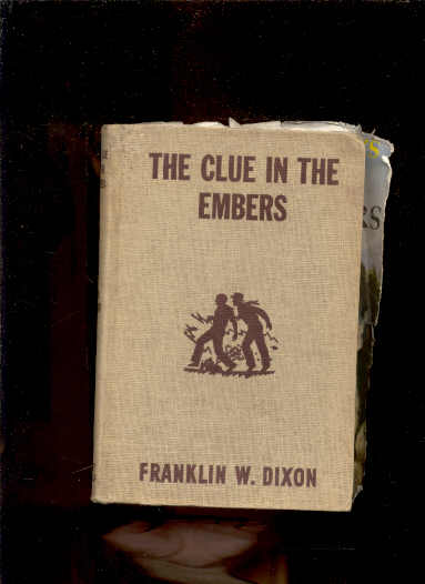 Image for THE CLUE IN THE EMBERS (HARDY BOYS #35)  Remnants of Dj Laid In