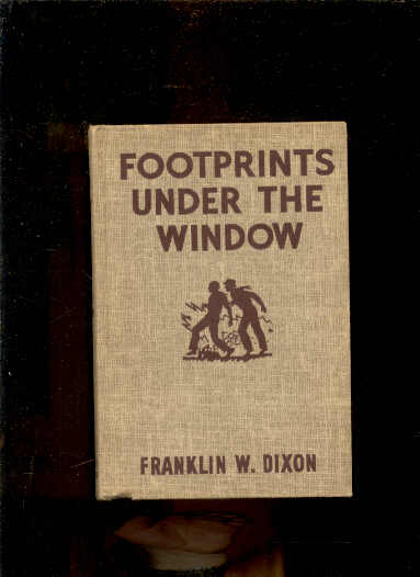 Image for FOOTPRINTS UNDER THE WINDOW (HARDY BOYS #12)