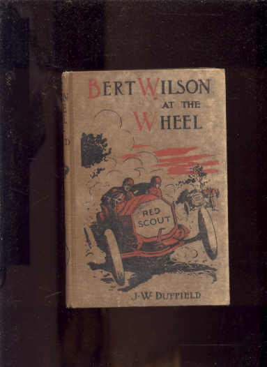 Image for BERT WILSON AT THE WHEEL