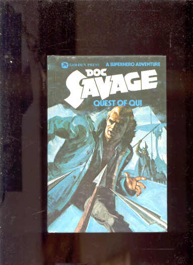 Image for DOC SAVAGE QUEST OF QUI: A SUPERHERO ADVENTURE