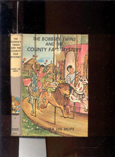 Image for THE BOBBSEY TWINS AND THE COUNTY FAIR MYSTERY