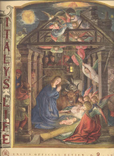 Image for ITALY'S LIFE Enita's Official Review Christmas Issue N. 9 1951