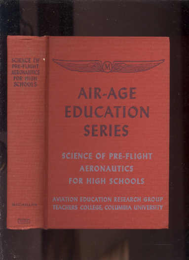 Image for SCIENCE OF PRE-FLIGHT AERONAUTICS FOR HIGH SCHOOLS