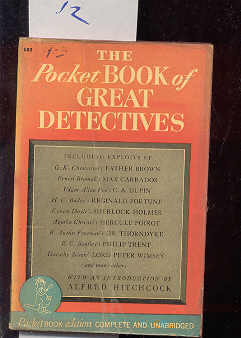 Image for THE POCKET BOOK OF GREAT DETECTIVES