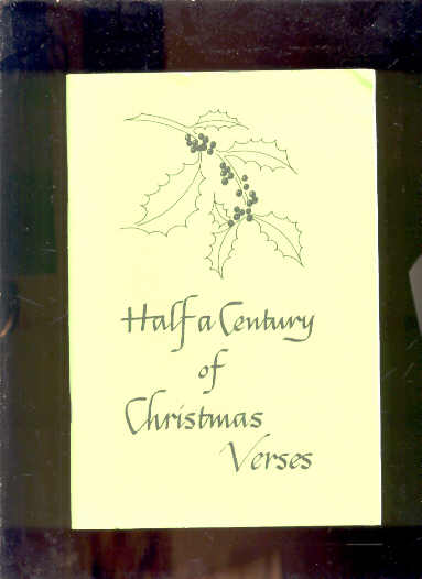 Image for HALF A CENTURY OF CHRISTMAS VERSES