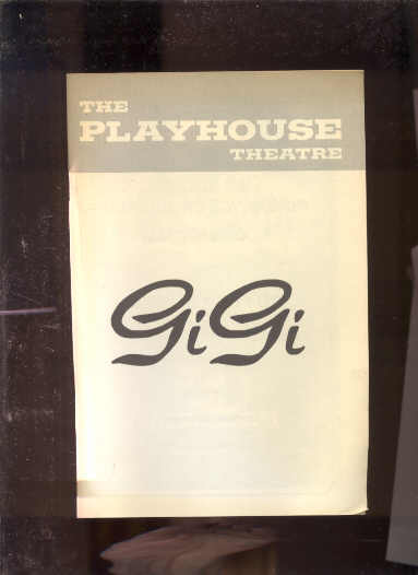 Image for PLAYBILL: GI GI