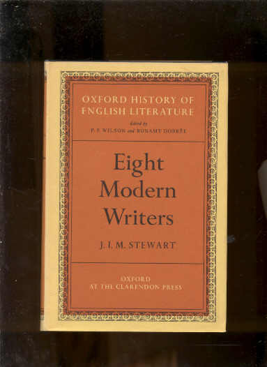 Image for EIGHT MODERN WRITERS (OXFORD HISTORY OF ENGLISH HISTORY)