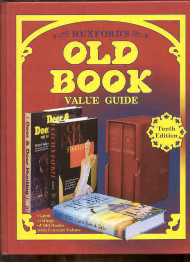 Image for HUXFORD'S OLD BOOK VALUE GUIDE, TENTH EDITION