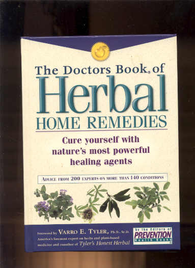 Image for THE DOCTORS BOOK OF HERBAL HOME REMEDIES : CURE YOURSELF WITH NATURE'S MOST POWERFUL HEALING AGENTS