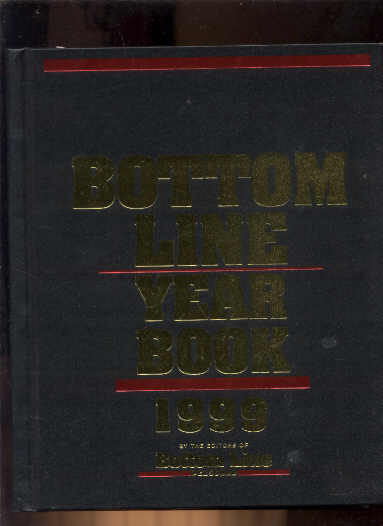 Image for BOTTOM LINE YEARBOOK 1999