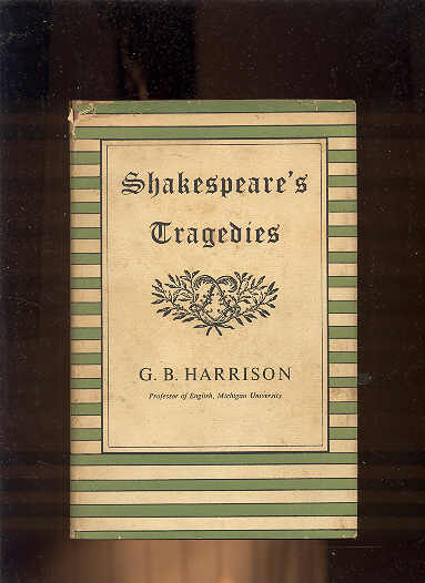 Image for SHAKESPEARE'S TRAGEDIES