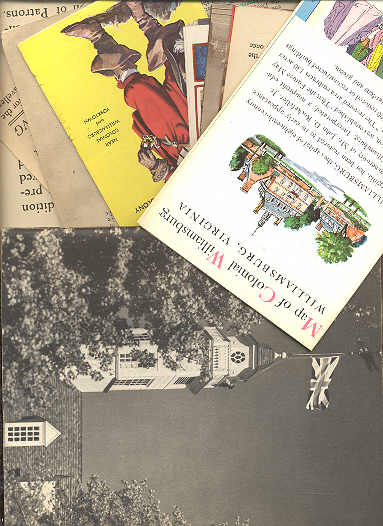 Image for WILLIAMSBURG EPHEMERA, PAMPHLETS, BROCHURES, ETC CIRCA 1946
