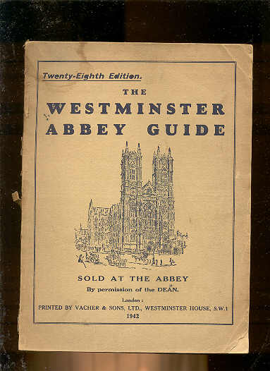 Image for TWENTY-EIGHTH EDITION WESTMINSTER ABBEY GUIDE  (Sold At the Abbey)