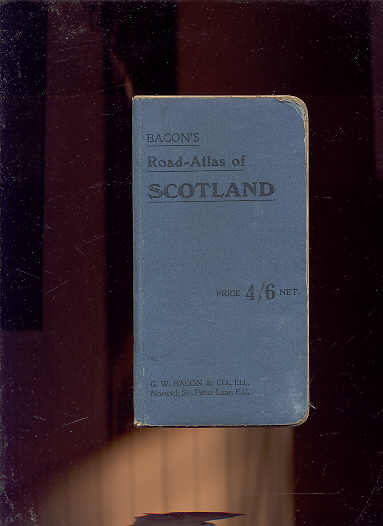 Image for BACON'S ROAD ATLAS SCOTLAND