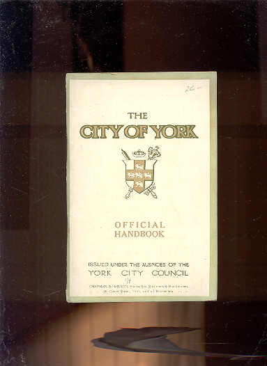 Image for CITY OF YORK OFFICIAL HANDBOOK