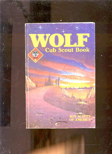 Image for WOLF CUB SCOUT BOOK 1986