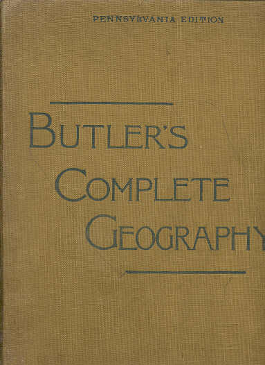 Image for Butler's Complete Geography: Pennsylvania Edition