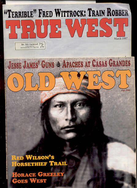 Image for OLD WEST MAGAZINE FALL 1996, MARCH 1997