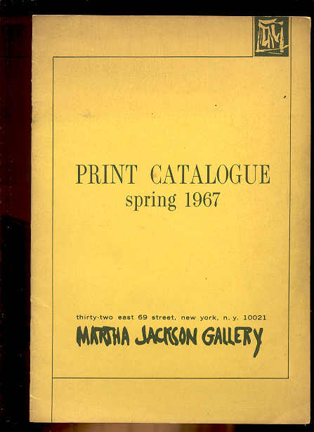 Image for PRINT CATALOGUE SPRING 1967