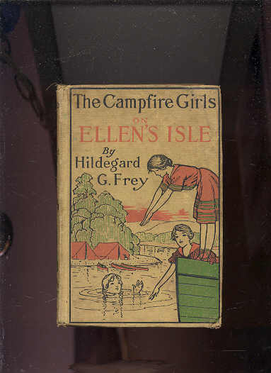 Image for CAMPFIRE GIRLS AT ELLEN'S ISLE OR THE TRAIL OF THE SEVEN CEDARS