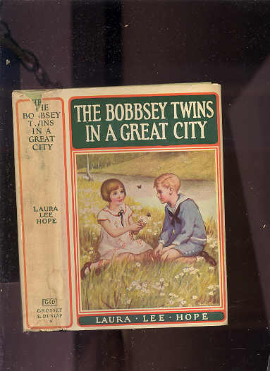 Image for THE BOBBSEY TWINS IN A GREAT CITY