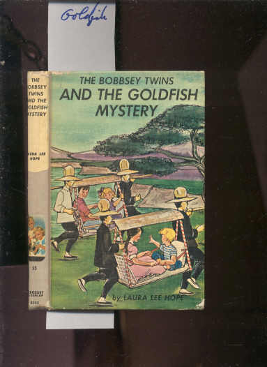 Image for THE BOBBSEY TWINS' AND THE GOLDFISH MYSTERY