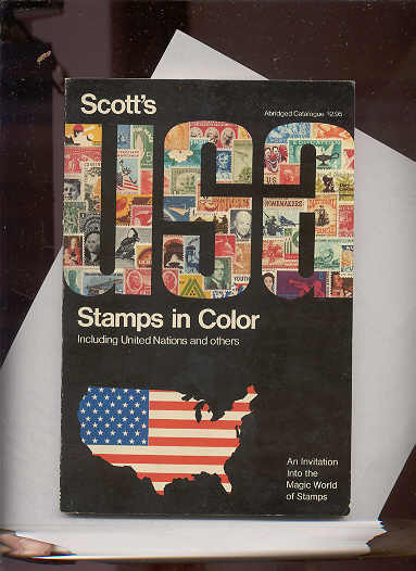 Image for SCOTT'S USA STAMPS IN COLOR INCLUDING UNITED NATIONS AND OTHERS 1969
