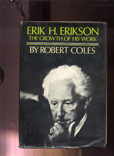 Image for ERIK H. ERIKSON: THE GROWTH OF HIS WORK