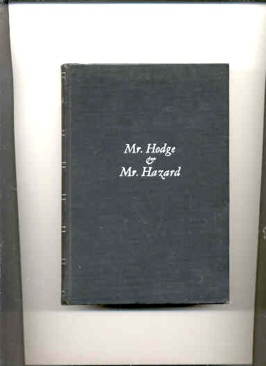 Image for MR. HODGE AND MR. HAZARD
