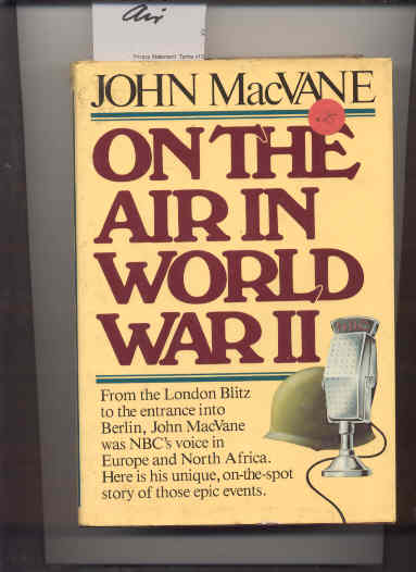 Image for ON THE AIR IN WORLD WAR II