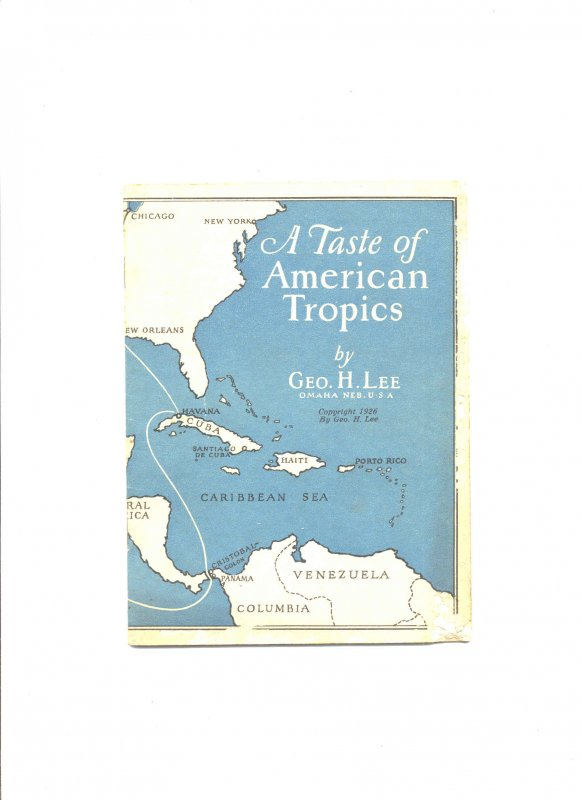 Image for A TASTE OF AMERICAN TROPICS