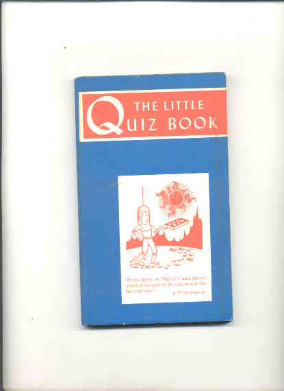 Image for THE LITTLE QUIZ BOOK
