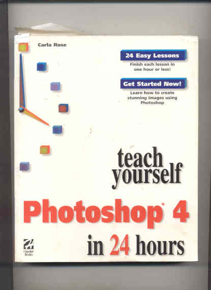 Image for TEACH YOURSELF PHOTOSHOP 4 IN 24 HOURS