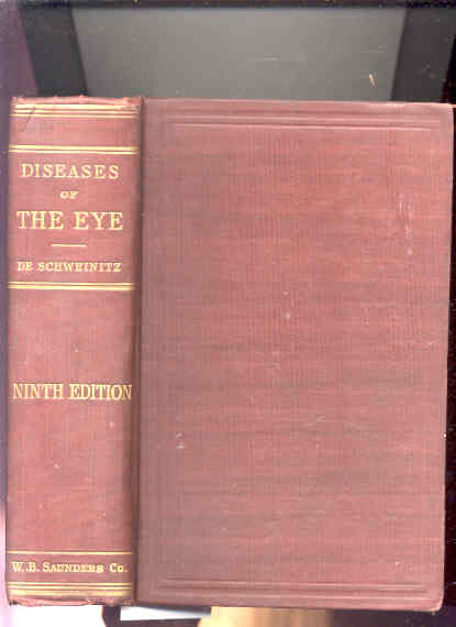 Image for DISEASES OF THE EYE: A HANDBOOK OF OPHTHALMIC PRACTICE FOR STUDENTS & PRACTIONERS