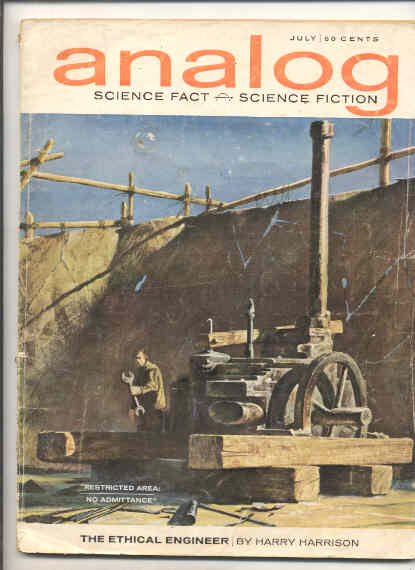 Image for ANALOG SCIENCE FACT SCIENCE FICTION [JULY 1963)