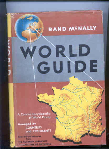 Image for RAND MCNALLY WORLD GUIDE, SELECTED AND ADAPTED FROM THE COLUMBIA LIPPINCOTT GAZETTEER OF THE WORLD