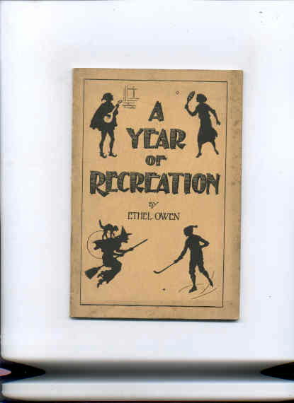 Image for YEAR OF RECREATION, A: TWELVE SUGGESTIVE SOCIALS