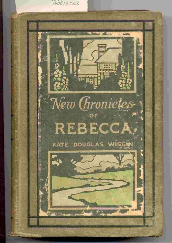 Image for NEW CHRONICLES OF REBECCA