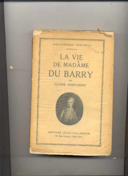 Image for LA VIE DE MADAME DU BARRY