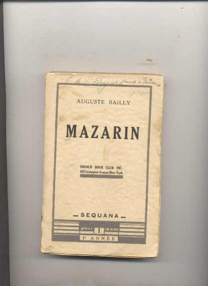 Image for MAZARIN.