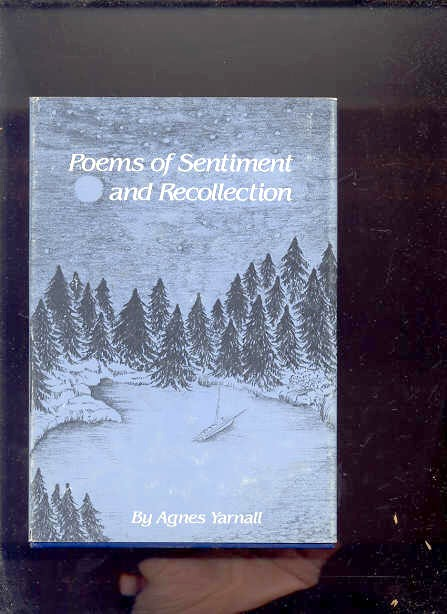 Image for POEMS OF SENTIMENT AND RECOLLECTION