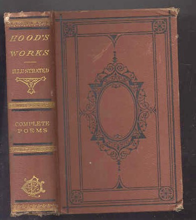 Image for POETICAL WORKS OF THOMAS HOOD, SERIOUS POEMS 2 Vols in One; Complete Poems