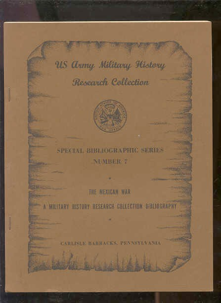 Image for U. S. ARMY MILITARY HISTORY. RESEARCH COLLECTION. SPECIAL BIBLIOGRAPHIC SERIES, NO. 10. PENNSYLVANNIA MILITARY HISTORY