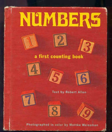 Image for NUMBERS: A FIRST COUNTING BOOK.