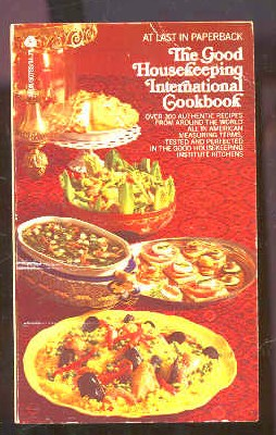 Image for THE GOOD HOUSEKEPING INTERNATIONAL COOKBOOK