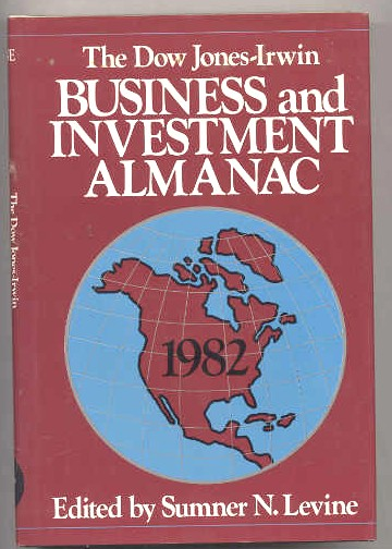 Image for 1982 DOW JONES-IRWIN BUSINESS & INVESTMENT ALMANAC